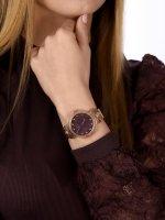 Versus Versace VSPEO1019 zegarek różowe złoto klasyczny Damskie bransoleta