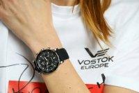 Vostok Europe VK64/515A523 Undine zegarek damski sportowy mineralne utwardzane