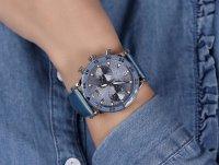 Vostok Europe VK64-515A526B zegarek srebrny sportowy Undine bransoleta