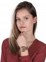 Vostok Europe VK64-515B569B zegarek różowe złoto sportowy Undine bransoleta