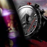 Vostok Europe VK64/515C395 Undine sportowy zegarek czarny