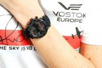 Vostok Europe VK64/515C395 Undine zegarek damski sportowy mineralne utwardzane