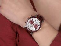 Vostok Europe VK64-515E567B zegarek srebrny sportowy Undine bransoleta