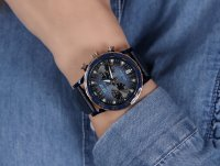 Vostok Europe VK64-515E628B zegarek niebieski sportowy Undine bransoleta