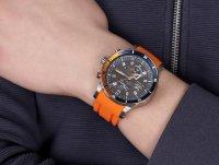 Vostok Europe YM8J-510H434 zegarek szary klasyczny Special Editions pasek