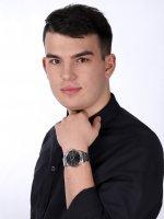 Wenger 01.1741.122 zegarek srebrny klasyczny Urban bransoleta