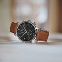 Wenger 01.1743.121 zegarek srebrny klasyczny Urban pasek