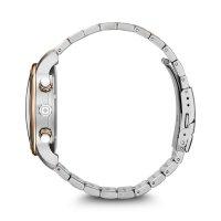 Wenger 01.1743.126 zegarek srebrny klasyczny Urban bransoleta