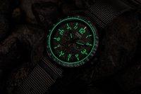 Traser TS-109459 P67 Officer Pro Chronograph Khaki NATO P67 Officer Pro wojskowy zegarek czarny