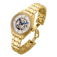Invicta 26357 zegarek złoty klasyczny Objet D Art bransoleta