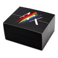 Armani Exchange AX7120 zegarek czarny klasyczny Fashion pasek