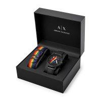 Armani Exchange AX7120 Armani Exchange Street Gift Set zegarek klasyczny Fashion