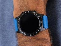 Garett 5903246287028 Smartwatch Garett Multi 4 Sport RT niebieski zegarek sportowy Męskie