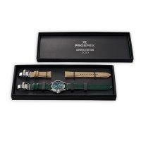 Seiko SPB199J1 zegarek srebrny klasyczny Prospex pasek