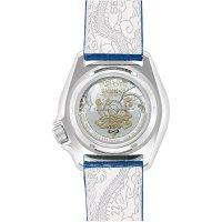 Seiko SRPF17K1 zegarek srebrny sportowy Sports Automat pasek