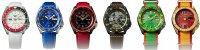 Seiko SRPF17K1 Sports Automat 5 Sports Automatic Street Fighter V Limited Edition zegarek męski sportowy mineralne utwardzane