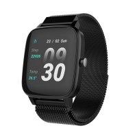 Strand S716USBBMB zegarek czarny fashion/modowy Smartwatch bransoleta