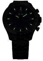 zegarek Traser TS-109466 P67 Officer Pro Chronograph Black Steel Bracelet męski z tachometr P67 Officer Pro