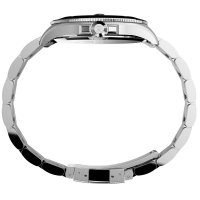 Timex TW2U41900 zegarek srebrny klasyczny Harborside bransoleta