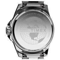 Timex TW2U42400 zegarek srebrny klasyczny Essex Avenue bransoleta