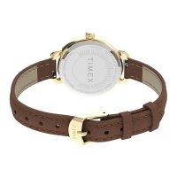 Timex TW2U60000 zegarek złoty klasyczny Standard pasek