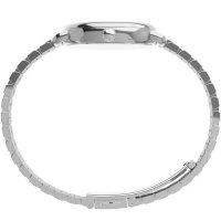 Timex TW2U60300 zegarek srebrny klasyczny Standard bransoleta