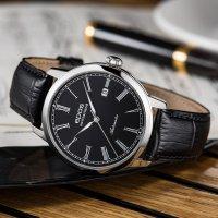 Epos 3432.132.20.25.15 Originale klasyczny zegarek srebrny