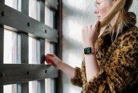 zegarek Garett 5903246286373 Smartwatch Garett Lady Viki złoty Damskie z tworzywa sztucznego