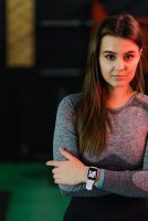 zegarek Garett 5903246286403 Smartwatch Garett Lady Viki biały Damskie z tworzywa sztucznego