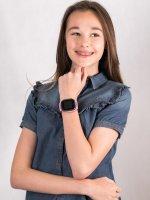 Zegarek 5903246286854 Garett Dla dzieci Smartwatch Garett Kids Spark 4G różowy szkło z tworzywa sztucznego - duże 4