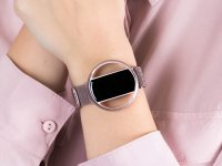 Garett 5903246287189 Smartwatch Garett Women Nicole RT różowy stalowy zegarek sportowy Damskie