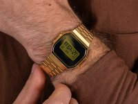 Zegarek A168WEGM-9EF  VINTAGE Maxi MIRROR FACE szkło mineralne - duże 6
