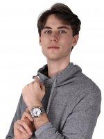 zegarek Adriatica A8202.Y113CH męski z chronograf Bransoleta