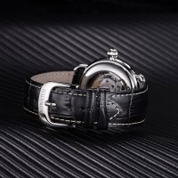 Aerowatch 68900-AA03 zegarek srebrny klasyczny 1942 pasek