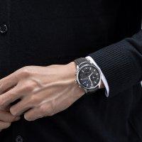 Aerowatch 78990-AA01 zegarek srebrny klasyczny Les Grandes Classiques pasek