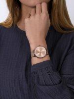 zegarek Armani Exchange AX5602 różowe złoto Fashion