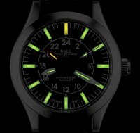 GM1086C-LJ-BK - zegarek męski - duże 5