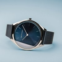 Bering 17039-307 Ultra Slim LZ129 Hindenburg Quarz zegarek damski klasyczny szafirowe