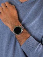 Zegarek bezbarwny fashion/modowy  ON DZT2021 pasek - duże 5