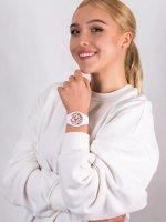 Zegarek biały fashion/modowy  Ice-Flower ICE.016665 pasek - duże 4