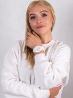 Zegarek biały fashion/modowy  ICE-Forever ICE.000134 pasek - duże 4