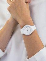 Zegarek biały fashion/modowy Timex Ironman TW5M17400 pasek - duże 5