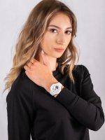 Zegarek biały sportowy  Baby-G BSA-B100SC-7AER pasek - duże 4