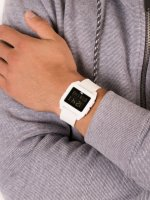 Zegarek biały sportowy Adidas Archive SP1 Z15-100 pasek - duże 5