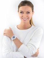Zegarek biały sportowy Casio Baby-G BA-130-7A2ER pasek - duże 4