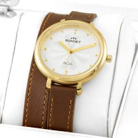 Bisset BSAE82GISX03BX damski zegarek Klasyczne pasek