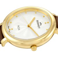 Bisset BSAE82GISX03BX zegarek damski Klasyczne