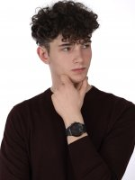 zegarek Bisset BSFE11BIBR03AX kwarcowy męski Nowoczesne Ice Ceramic Chronograph
