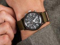 Zegarek brązowy fashion/modowy Timex MK1 TW2R67800 pasek - duże 6