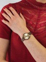 Zegarek brązowy klasyczny Casio VINTAGE Instashape LTP-E157MR-9AEF bransoleta - duże 5